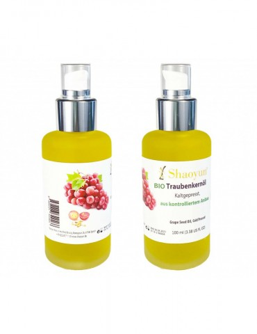 Grape seed oil cold pressed...