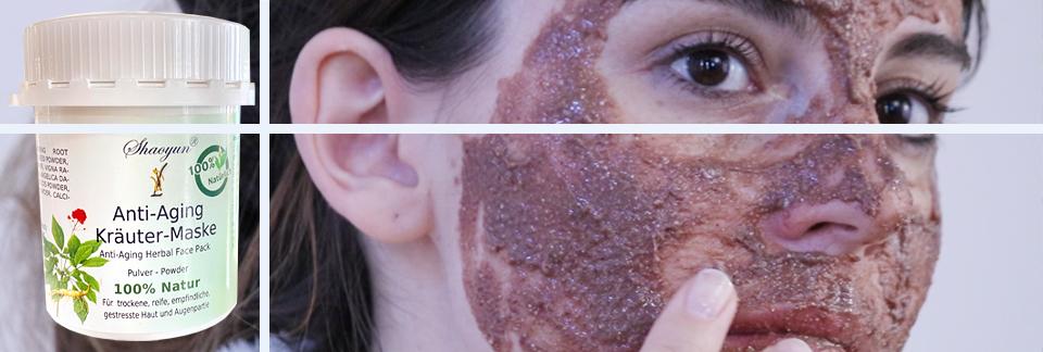 Anti-Aging Maske natural