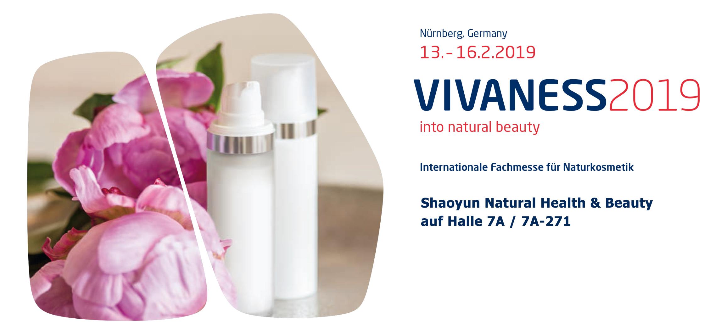 Vivaness Fachmesse für frische naturkosmetik